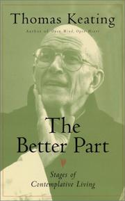 Cover of: The Better Part: Stages of Contemplative Living
