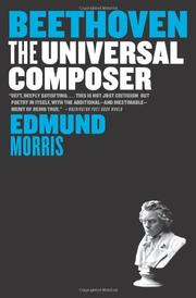 Cover of: Beethoven | Edmund Morris