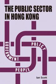 Cover of: Public Sector in Hong Kong