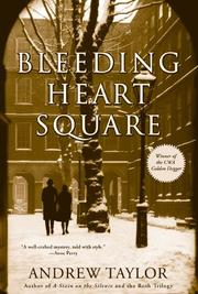 Cover of: Bleeding Heart Square | Andrew Taylor