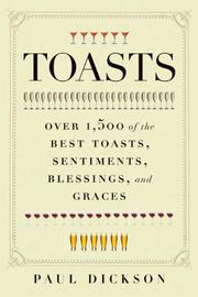 Cover of: Toasts | Paul Dickson
