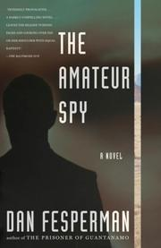 Cover of: The Amateur Spy (Vintage Crime/Black Lizard)