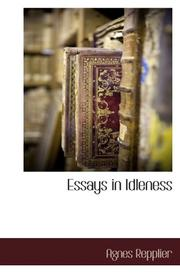 essay on idleness