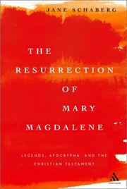 Cover of: The Resurrection of Mary Magdalene | Jane Schaberg