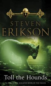 Cover of: Toll the Hounds (Malazan Book 8) (Malazan Book of the Fallen)