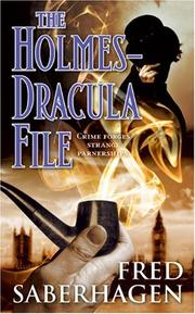 Cover of: The Holmes-Dracula File (The Dracula Series)