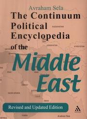Cover of: The Continuum Political Encyclopedia of the Middle East