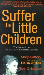 Cover of: Suffer the Little Children | Mary Raftery