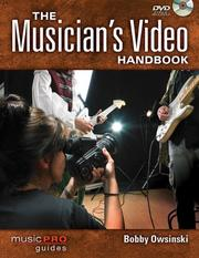 Cover of: The Musician's Video Handbook: Music Pro Guides