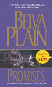 Cover of: Promises | Plain, Belva.