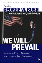 Cover of: We will prevail