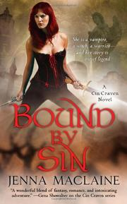 Cover of: Bound By Sin (A Cin Craven Novel)
