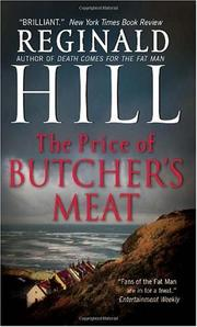Cover of: The Price of Butcher's Meat (Dalziel and Pascoe)