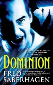 Cover of: Dominion