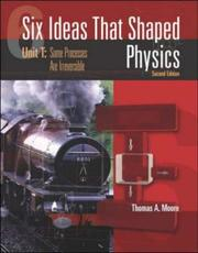 Cover of: Six Ideas That Shaped Physics | Thomas A. Moore