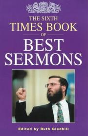Cover of: The sixth Times book of best sermons |