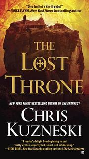 Cover of: The Lost Throne | Chris Kuzneski
