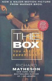Cover of: The Box: Uncanny Stories