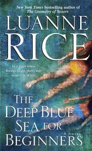 Cover of: The deep blue sea for beginners: a novel