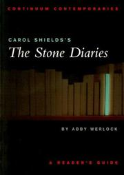 Carol Shields's [sic] The stone diaries by Abby H. P. Werlock