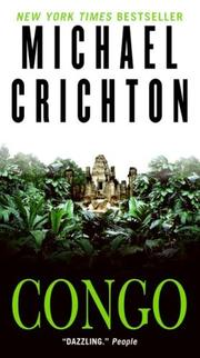 Cover of: Congo by Michael Crichton