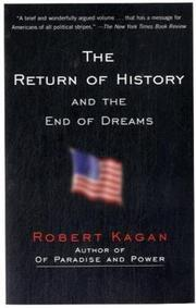 Cover of: The Return of History and the End of Dreams (Vintage)