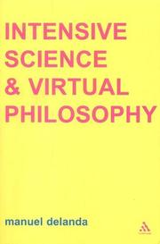 Cover of: Intensive Science and Virtual Philosophy (Transversals: New Directions in Philosophy)