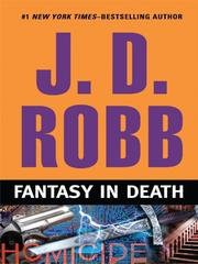 Cover of: Fantasy in death