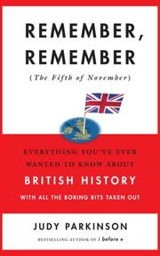 Cover of: Remember, remember (the fifth of November)