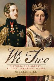 Cover of: We two: Victoria and Albert Rulers, partners, rivals
