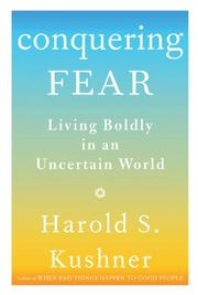 Cover of: Conquering fear | Harold S. Kushner