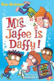 Cover of: Mrs. Jafee is daffy!