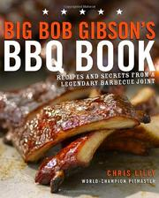 Cover of: Big Bob Gibson's BBQ book