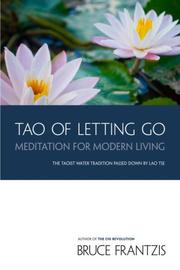 Cover of: The tao of letting go