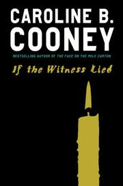 Cover of: If the Witness Lied