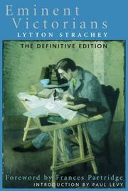 Cover of: Eminent Victorians | Giles Lytton Strachey