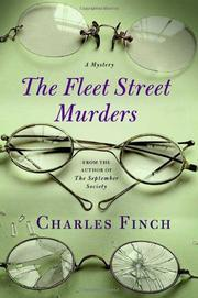 Cover of: The Fleet Street murders | Charles Finch