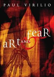 Cover of: Art and Fear (Athlone Contemporary European Thinkers)