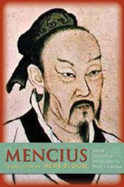 Cover of: Mencius | Mencius