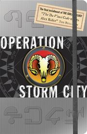 Cover of: Operation Storm City