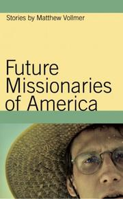 Cover of: Future missionaries of America