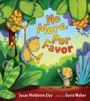 Cover of: No more, por favor
