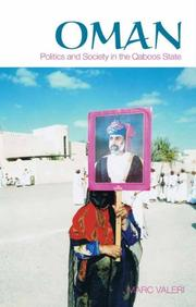 Cover of: Oman | Marc ValerI