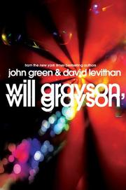 Cover of: Will Grayson, Will Grayson