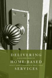 Cover of: Delivering home-based services |