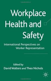 Cover of: Workplace health and safety |