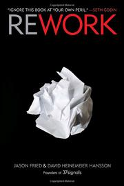 Cover of: Rework | Jason Fried