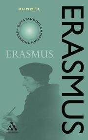 Cover of: Erasmus