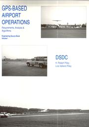 Cover of: GPS-based airport operations | H. Robert Pilley