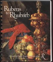Cover of: Rubens to rhubarb